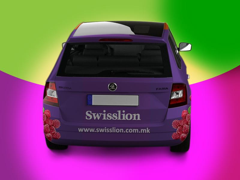 brendiranje automobila za Ressanu