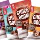 dizajn ambalaže za choco-boom i logo