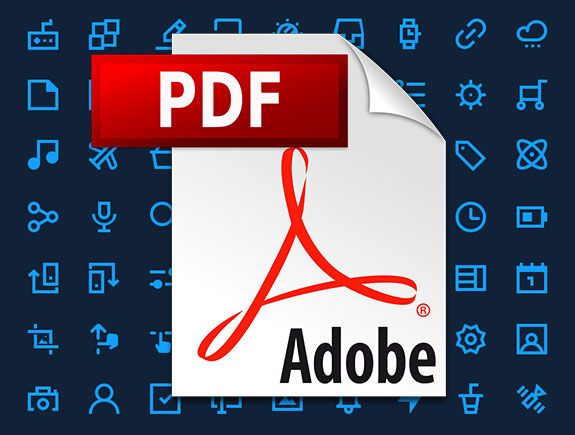 slika predstavlja ikonicu PDF Adobe