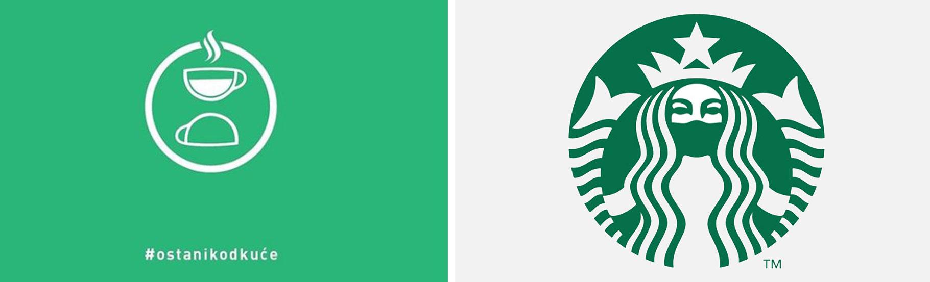 primer logotipa star bucks