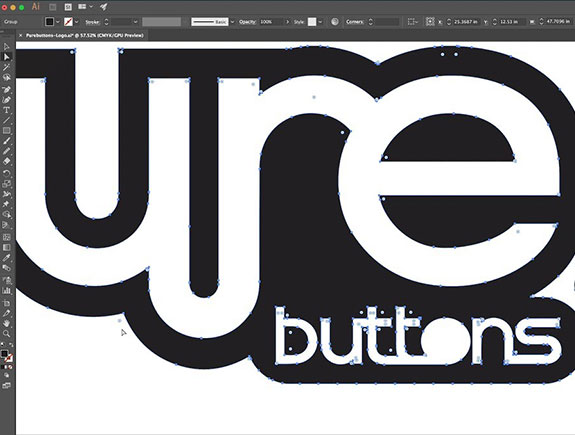primer logotipa u ilustratoru