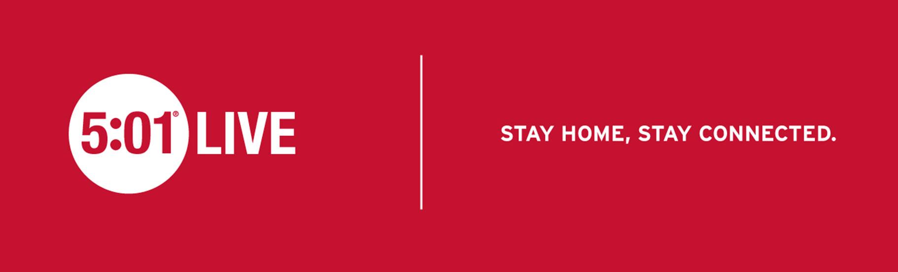 reklama levisova za Covid sa sloganom stay home, stay connected