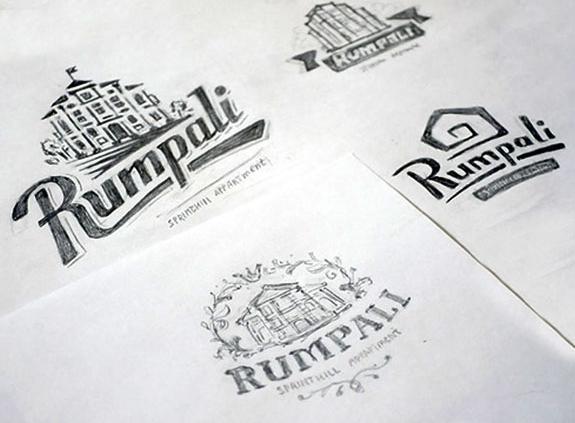rumpali logo skica