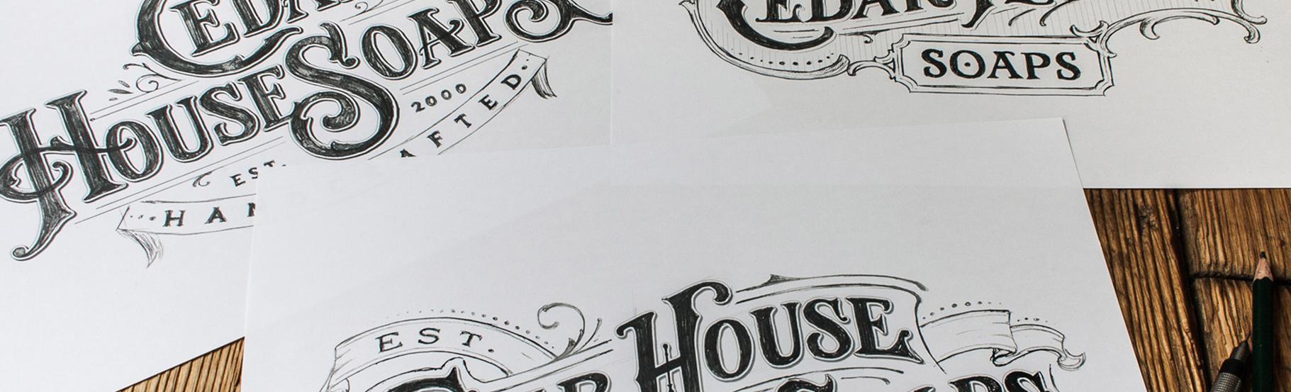 logo cedar house primer na papiru