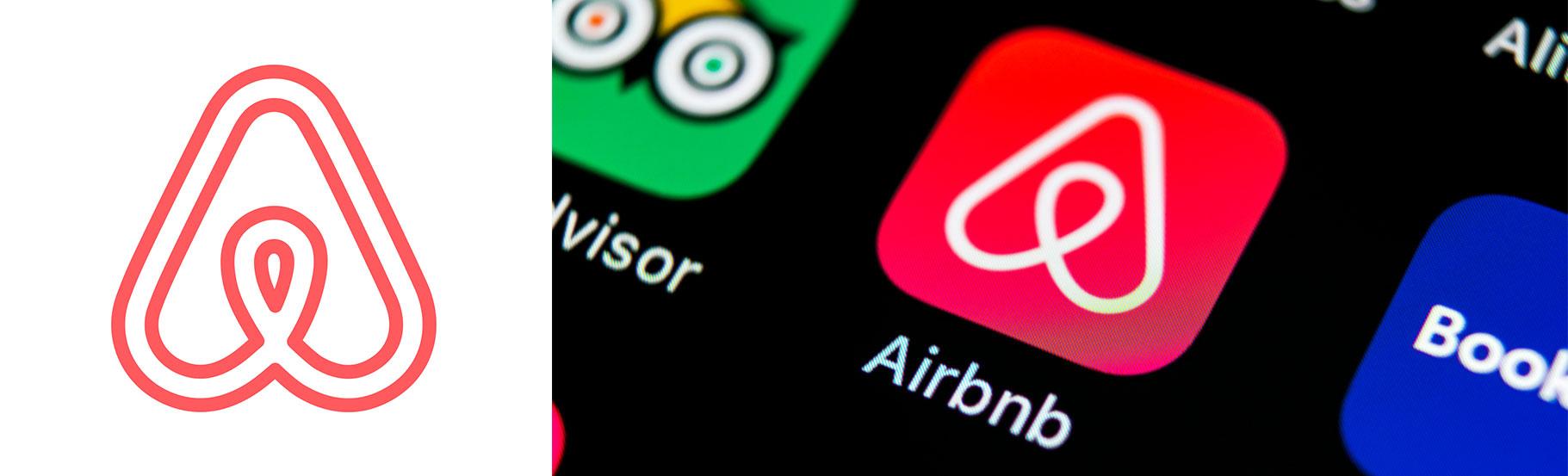 logo ikonica airbnb