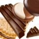obrada fotofrafije na kojoj se nalazi čokolada i keks
