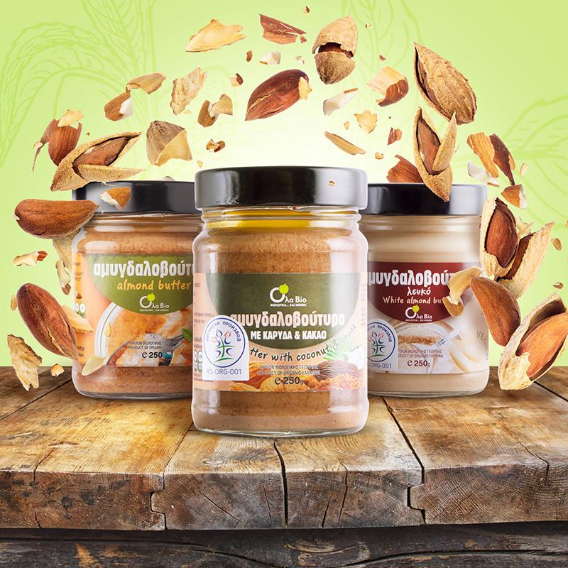 fotografija namazi puter od pistaća i kikirikija