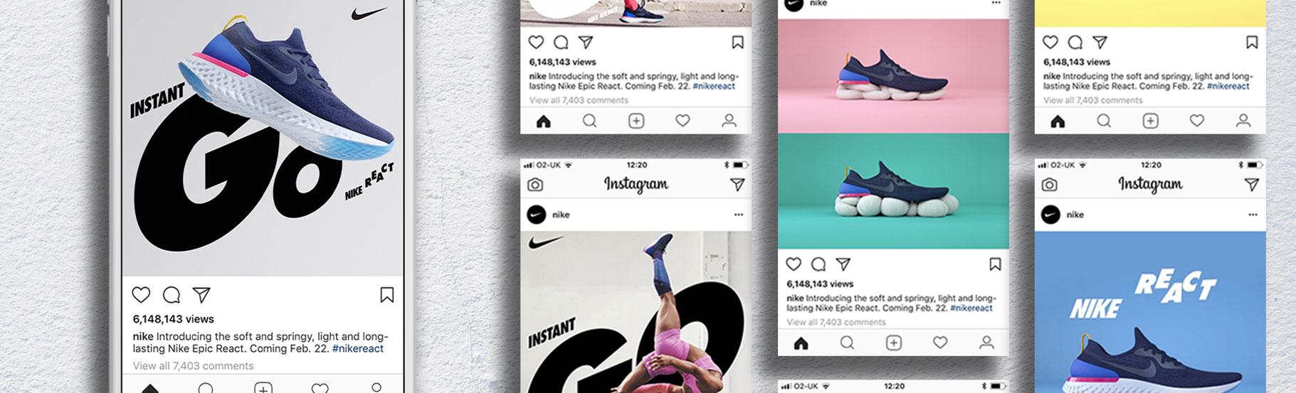 Sive Nike patike