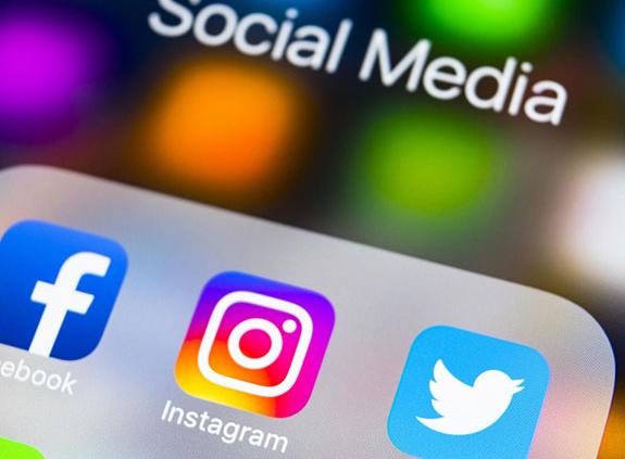 Ikonice facebook, Instagram, Twetter