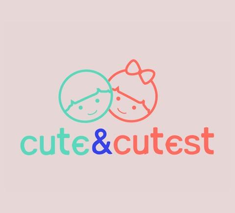 cute cutest logo dizajn