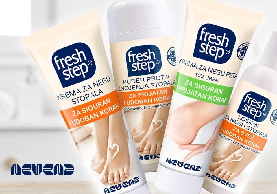 fresh step dizajn tube