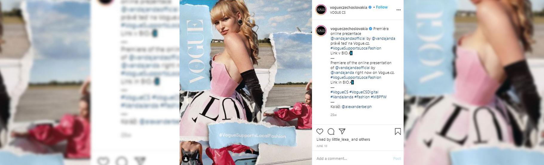 Screenshot ekrana sa devojkom u haljini