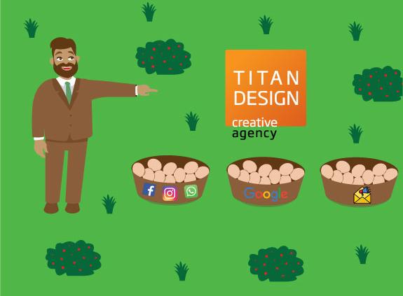 Titan dizajn kreira marketinške strategije prema vašim potrebama